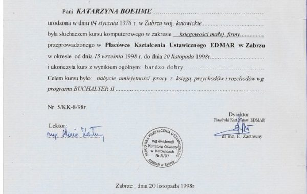 Placówka Kształcenia Ustawicznego EDMAR