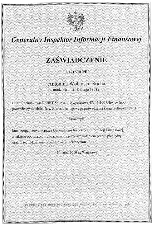 Generalny Inspektor Informacji Finansowej