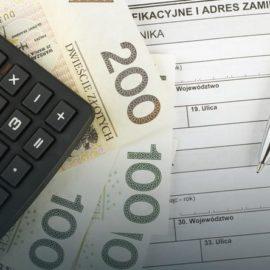 Wybór formy wpłacania zaliczek w formie kwartalnej, miesięcznej, uproszczonej.