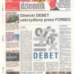 Artykuł w gazecie z okazji 25-lecia działalności naszej firmy