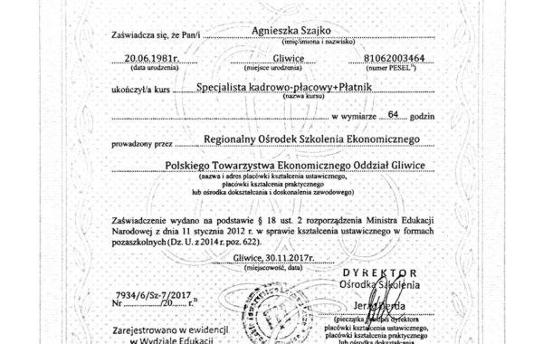 Specjalista Kadrowo-Płacowy oraz program Płatnik