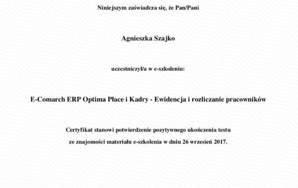 Comarch ERP Optima Płace i Kadry – Ewidencja i rozliczanie pracowników